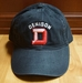 Denison Washed Collegiate Hat Black
