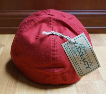 Denison Washed Collegiate Hat Red