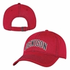 Denison Washed Twill Structured Cap Red