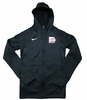 Denison Womens Nike Game Day Hoody Black/ White