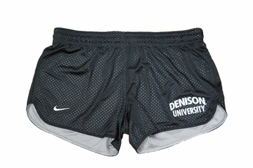 Denison Womens Nike Hero Mesh Black Shorts
