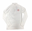 Denison Womens Under Armour 1/4 Zip Cold Gear White