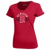 Denison Womens Under Armour Nu Tech T Simply Red