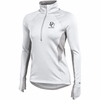 Denison Womens Under Armour Verve Fleece 1/2 Zip White