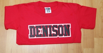 Denison Youth Classic Shirt Red