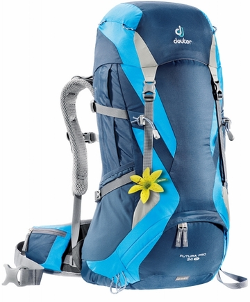 Deuter Womens Futura Pro 34 SL Midnight/ Turquoise