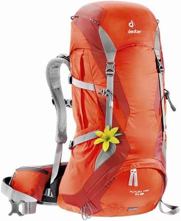 Deuter Womens Futura Pro 34 SL Papaya/ Lava