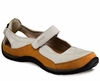 Ecco Womens Yarrah Ice White/ Orange Nubuck