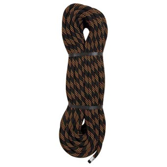 Edelweiss Static Rope 11mmX150' Caving Black