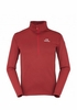 Eider Mens Ampezzo 1/2 Zip Fleece Fiery Canyon