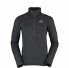 Eider Mens Ampezzo 1/2 Zip Fleece Gris Graphite