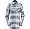 Eider Mens Fier Shirt Drake Blue/ Redwood