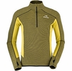 Eider Mens Shift Wool Half Zip Green Lime