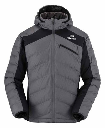 Eider Mens Yomba Mix Jacket Graphite Cloudy