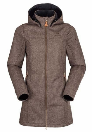 Eider Womens Balmaz Coat II Coffee