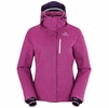 Eider Womens Lake Placid Jacket Purple Wine
