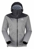 Eider Womens Target Stretch Jacket Black/ Grey Cloudy