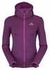Eider Womens Wonder Hoodie Purple Rain Cloudy