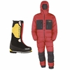 Everest Millet Boots & Mountain Hardwear Down Suit Combination- Special Price