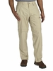 "ExOfficio Mens Bugsaway Ziwa Convertible Pant 32"" Inseam Light Khaki (Close Out)"