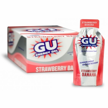 GU Energy Gel Strawberry Banana 24 Pack