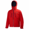 Helly Hansen Mens Alpha Jacket Alert Red
