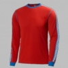 Helly Hansen Mens Dry Stripe Crew Alert Red