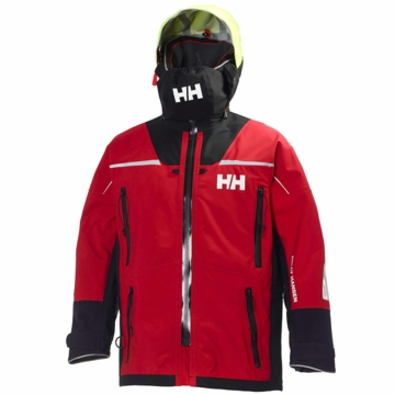 Helly Hansen Mens Ocean Jacket Red
