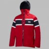 Helly Hansen Mens Salt Jacket Red