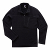 Ibex Mens Scout 1/2 Zip Black (Autumn 2013)