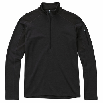 Ibex Mens Shak Lite 1/2 Zip Black Coffee (Autumn 2013)