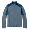 Ibex Mens Shak Lite 1/2 Zip Storm Gray (Autumn 2013)