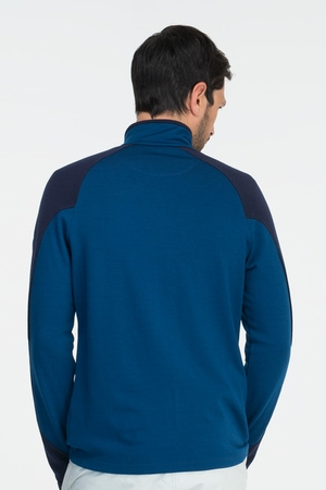 Icebreaker Mens Legion Long Sleeve Zip Largo/ Admiral (Autumn 2013)