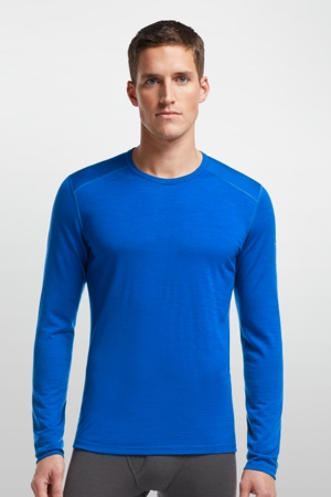 Icebreaker Mens Oasis Long Sleeve Crewe Awesome/ Awesome