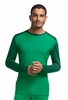 Icebreaker Mens Oasis Long Sleeve Crewe Lucky/ Bottle/ Bottle Medium