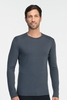 Icebreaker Mens Oasis Long Sleeve Crewe Monsoon (Autumn 2014)