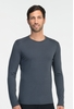 Icebreaker Mens Oasis Long Sleeve Crewe Monsoon (Close Out))