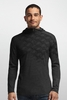 Icebreaker Mens Oasis Long Sleeve Half Zip Cubert Koch Black (Autumn 2014)