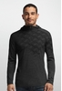 Icebreaker Mens Oasis Long Sleeve Half Zip Cubert Koch Black (Close Out)