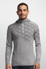 Icebreaker Mens Oasis Long Sleeve Half Zip Cubert Koch Metro Heather (Autumn 2014)