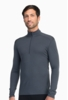 Icebreaker Mens Oasis Long Sleeve Half Zip Monsoon