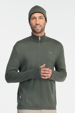 Icebreaker Mens Original Long Sleeve Half Zip Cargo (Autumn 2013)