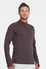 Icebreaker Mens Pursuit Long Sleeve Half Zip Walnut (Autumn 2013)