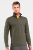 Icebreaker Mens Sierra Long Sleeve Half Zip Cargo (Autumn 2013)