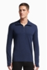 Icebreaker Mens Tech Top Long Sleeve Half Zip Admiral/ Admiral