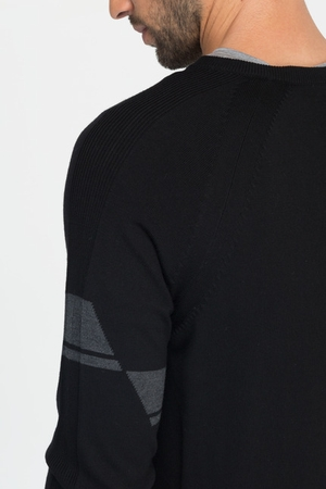 Icebreaker Mens Vantage Long Sleeve V Black (Autumn 2013)