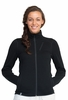 Icebreaker Womens Cascade Long Sleeve Zip Black XS