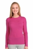 Icebreaker Womens Everyday Long Sleeve Crewe Magenta Small