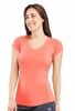 Icebreaker Womens Flash Short Sleeve V Ambrosia (Spring 2014)