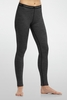 Icebreaker Womens Oasis Leggings Stripe Black/ Snow (Close Out)